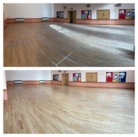 "Sanding ""no dust and the floor looks better then when it was new, great value for money"""