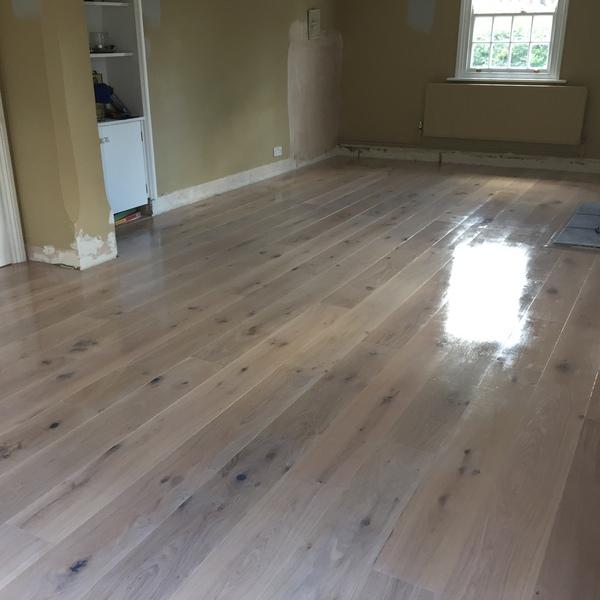 White oiled wood floor in Bradford-on-Avon - Wood Flooring - Bradford On Avon