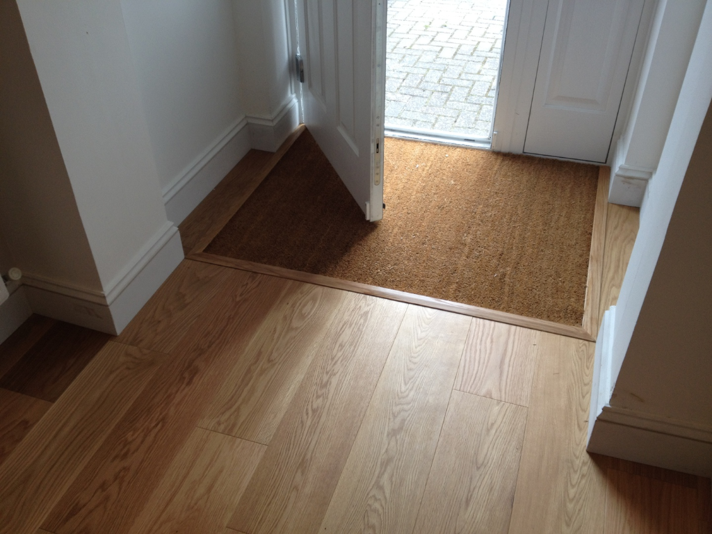 Wood flooring installed in Dorset by our wood floor craftsman