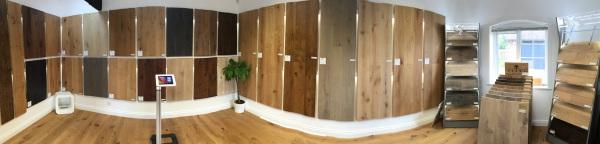 Wood flooring showroom in salisbury - Wiltshire