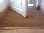 L bar to coir mat