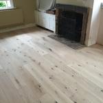 White oiled wood floor in Bradford-on-Avon