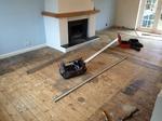 Rustic oak oiled wood flooring installed in Dorset