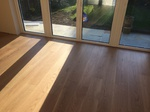 Prime oak wood floor installed in Downton