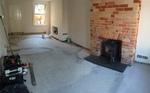 Engineered Oak brushed wood flooring installed in Salisbury