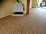 Parquet merbau mosaic restoration/sanding - Lymington