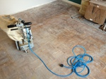parquet restoration/sanding repairs and finishing carried out in the salisbury area