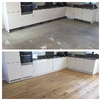 This wood flooring was installed by our specialist wooden floor installers in Eastleigh
