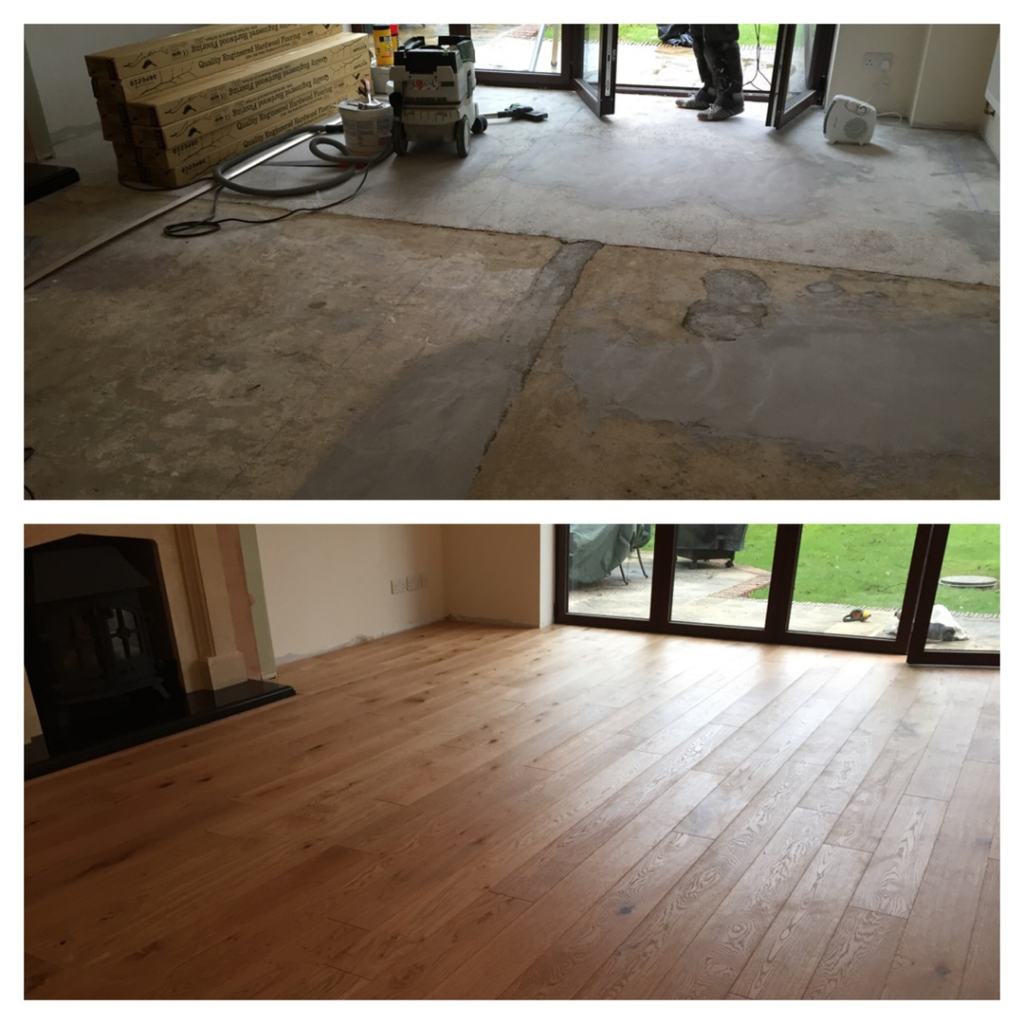 Wood flooring fitted in Amesbury