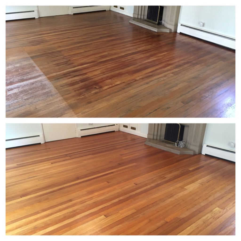 Stunning!  David -  wood floor sanding done in Andover by our dust free floor sanding team