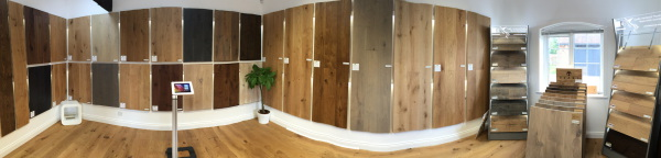 Wood flooring showroom in salisbury - Wiltshire