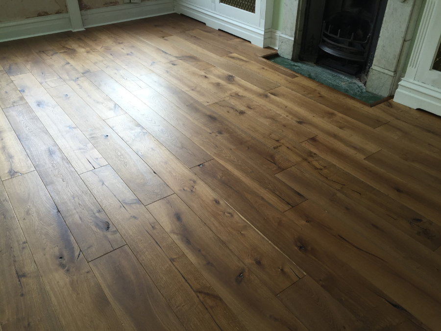 Wood flooring fitting service for Salisbury