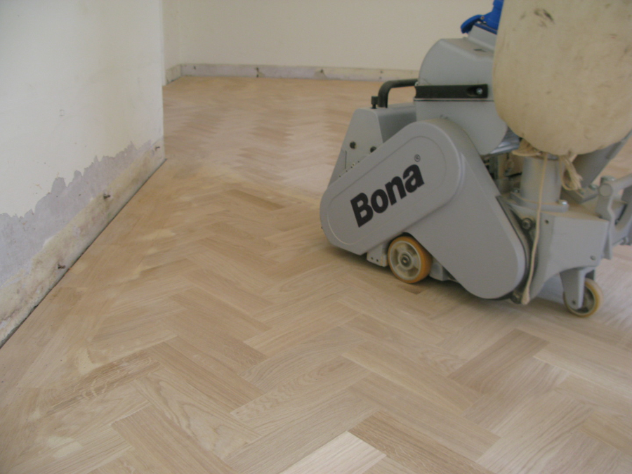 Parquet floor restoration for Salisbury