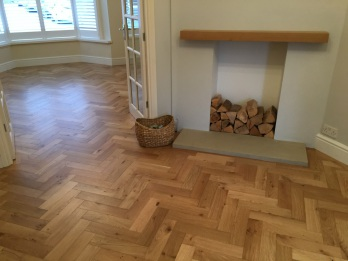 Engineered parquet flooring
