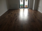 Walnut wood flooring installed Wiltshire