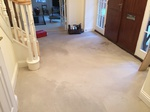 White wash oiled oak wood flooring installed in Trowbridge