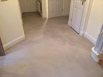 White wash oiled oak wood flooring installed in Trowbridge