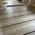 White oiled wood floor in Bradford-on-Avon