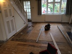 Rustic oak oiled wood flooring installed in Dorset