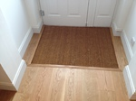 Wood flooring fitted hall Laverstock - Salisbury