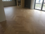 We have many finishes available for parquet flooring - Natural look parquet