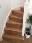 Stair cladding - covering service with wood flooring