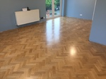Solid prime oak parquet flooring installed in Southampton by our craftsman