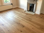 Supply and fit barn oak wood flooring wide oak planks