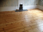 Dust free floorboard restoration and refinishing in Romsey
