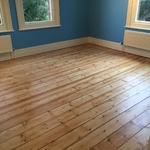 Floorboards sanding and refinished in Andover by our highly skilled restoration team