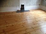 Dust free floorboard sanding