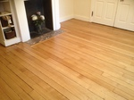 Oak dust free floor sanding