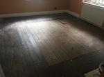 Pine parquet sanding/restoration cleaning in Wilton