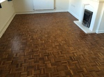 Parquet restoration/sanding and repairs carried out in Amesbury by our sanding team