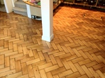 Parquet restoration-sanding and refinishing in Warminster area